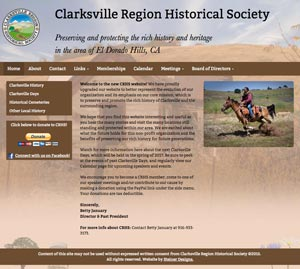 Clarksville Region Historical Society website