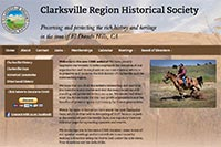 Clarksville RHS website