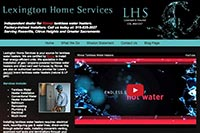 Lexington Home Services website
