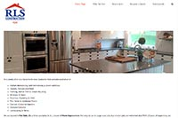 RLS Construction website