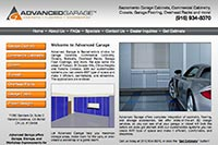Advanced Garage website