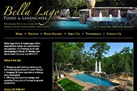 bella lago pools and landscapes website