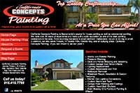 California Concepts Painting website