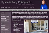 Dynamic Body Chiropractic website