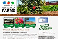 El Dorado Hills Natural Farms website