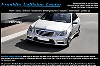 Franklin Collision Center website