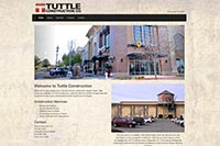 Tuttle Construction Co. website
